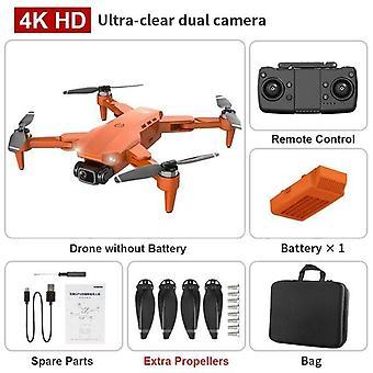 L900 pro 4k hd dubbel kamera med gps wifi fpv realtid överföring borstlös motor rc avstånd 1,2 km professionell drone