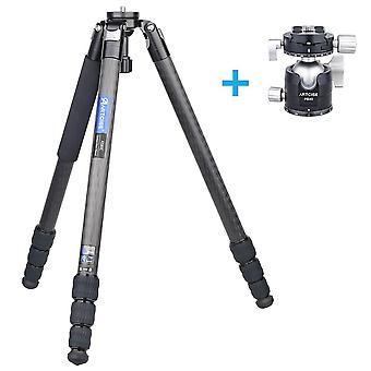 Treppiede fotocamera in fibra di carbonio
