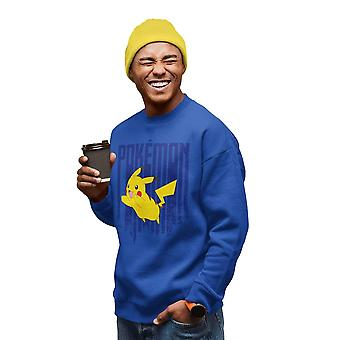 Pokemon Mens Pikachu Sweatshirt