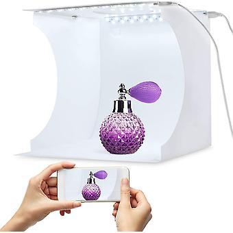 FengChun Tragbarer Foto-Studio-Ministand-Schiezeltinstallationssatz faltende Fotografie Leuchtkasten