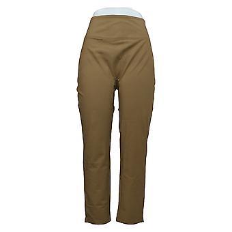 Mujeres con control pantalones pequeños para mujer marrón A391212