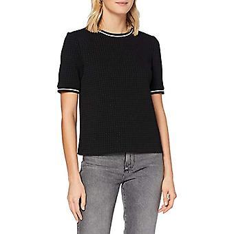 edc by Esprit 090CC1K327 T-Shirt, 001/black, S Woman