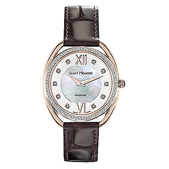 Saint Honore Analog Quartz Watch for Women with Leather Strap 7210238YADR