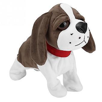 Elektroniset lemmikkieläimet, ääniohjausrobotti, koirien kuoriteline, kävellä, söpö interaktiivinen