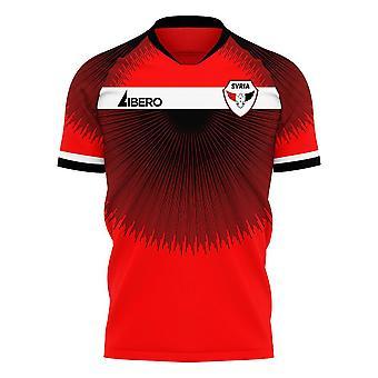 Syria 2020-2021 Home Concept Football Kit (Libero)