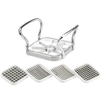 Multifunctional Fruit Slicer Cutter Stainless Steel Potato French Fries Kitchen Onion Garlic Cabbage
