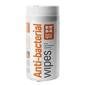 ColorWay Antibakteriális fertőtlenítő Kéz- és felülettörlő 100 csomag