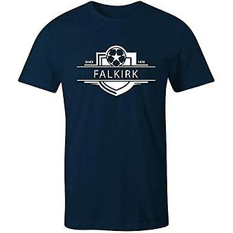 Sporting empire falkirk 1876 established badge football t-shirt