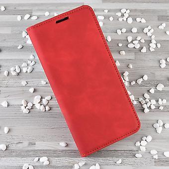 Leather phone case for xiaomi mi poco x3 nfc pu cover magnetic case flip book cover