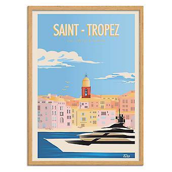 Taidejuliste - Saint-Tropez - Turo