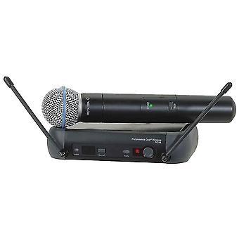 מיקרופון אלחוטי באיכות גבוהה PGX24/BETA58A UHF
