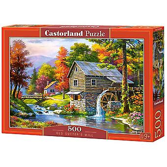Castorland, Puzzle - Old Sutters Mill - 500 Pieces