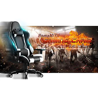 Gaming Chair Office Chair High Back Computer Chair Leather Desk Chair Racing Executive Ergonomic Adjustable Swivel Task Chair