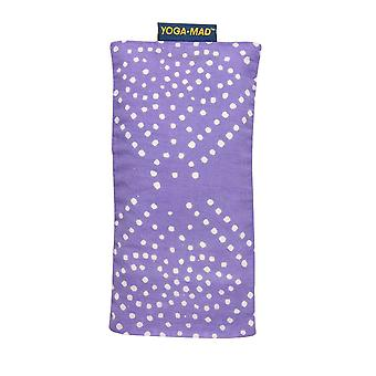 Fitness Mad Patterned Cotton Eye Pillow-Pastel Purple Diamond
