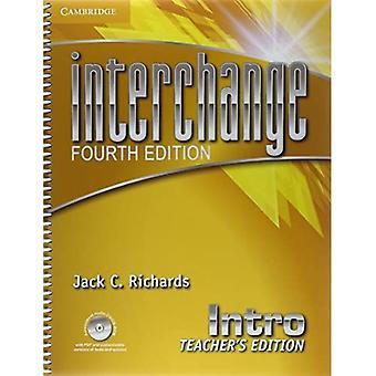 Interchange Intro Teacher's Edition avec CD/CD-ROM audio d'évaluation