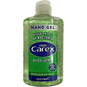 Cussons Carex Aloe Vera Hand Gel - Family Size Bottle 300Ml
