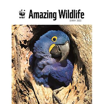 WWF Amazing Wildlife Deluxe A5 Diary 2022 by Edited by World Wildlife Fund