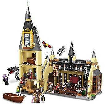Wooden blocks 926pcs harry potter hogwarts castle series wizard building blocks toys