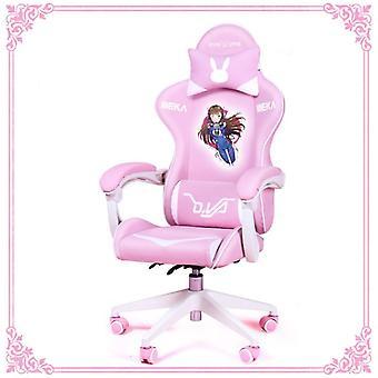 Uudet tuotteet Wcg Gaming Chair Cute Cartoon Computer Nojatuoli Toimisto Koti Kääntö