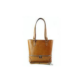 Vera Pelle A4 Camel V335C everyday  women handbags