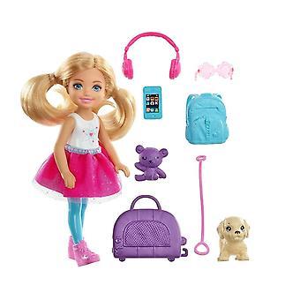 Маленькая Келли Путешествия Кукла Игрушка Набор, День рождения Подарок для девушки