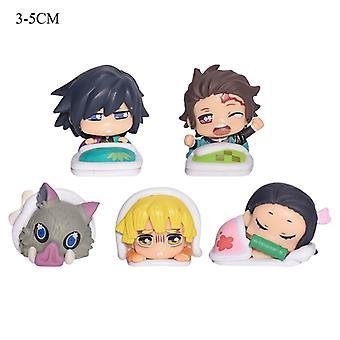 Demon Slayer Cartoon Character Sleeping Series Cute Doll Birthday Gift