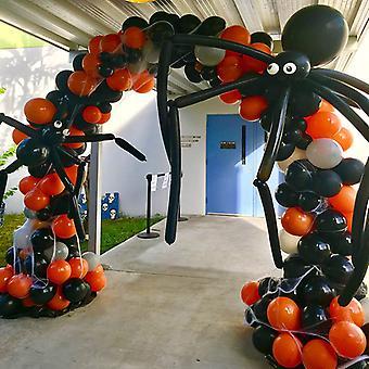 176 Pack Halloween Latex Ballons Bogenbrücke Set Halloween Dekoration