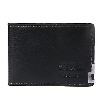 Fashion Men Driving License Wallet Id Credit Card Holder Case Bifold Purse