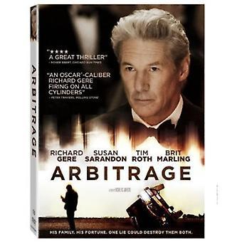 Arbitrage [DVD] USA import