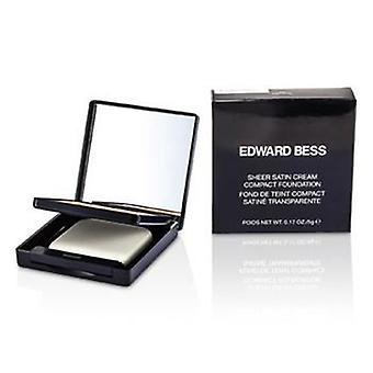 Edward Bess Sheer satinado base compacta crema - #05 Natural - 5g / 0.17 oz