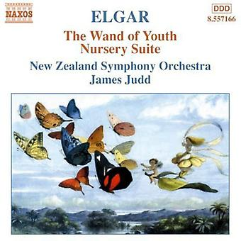 E. Elgar: Elgar: Sauva nuoriso; Lastentarha Suite [CD] USA tuonti