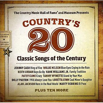 Country Music Hall of Fame Presents Country's 20 C - Country Music Hall of Fame Presents Country's 20 C [CD] USA import