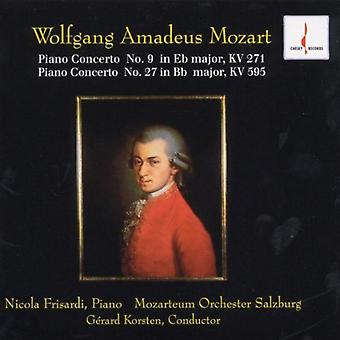 W.a. Mozart - Mozart : Concerto pour Piano n° 9 ; Piano Concerto n ° 27 [CD] USA import
