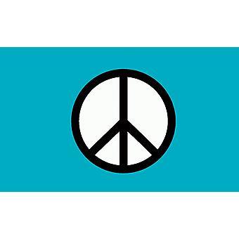 5ft x 3ft Flag - CND Peace