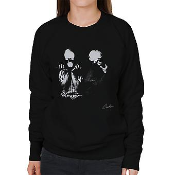 Orbital Skull X-Ray leitet Damen Sweatshirt