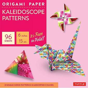 Origami Paper Kaleidoscope Patterns 6 96 Feuilles Tuttle Origami Paper HighQuality Origami Sheets Printed with 8 Different Patterns Instructions for 7 Projects Included by Tuttle Publishing Origami