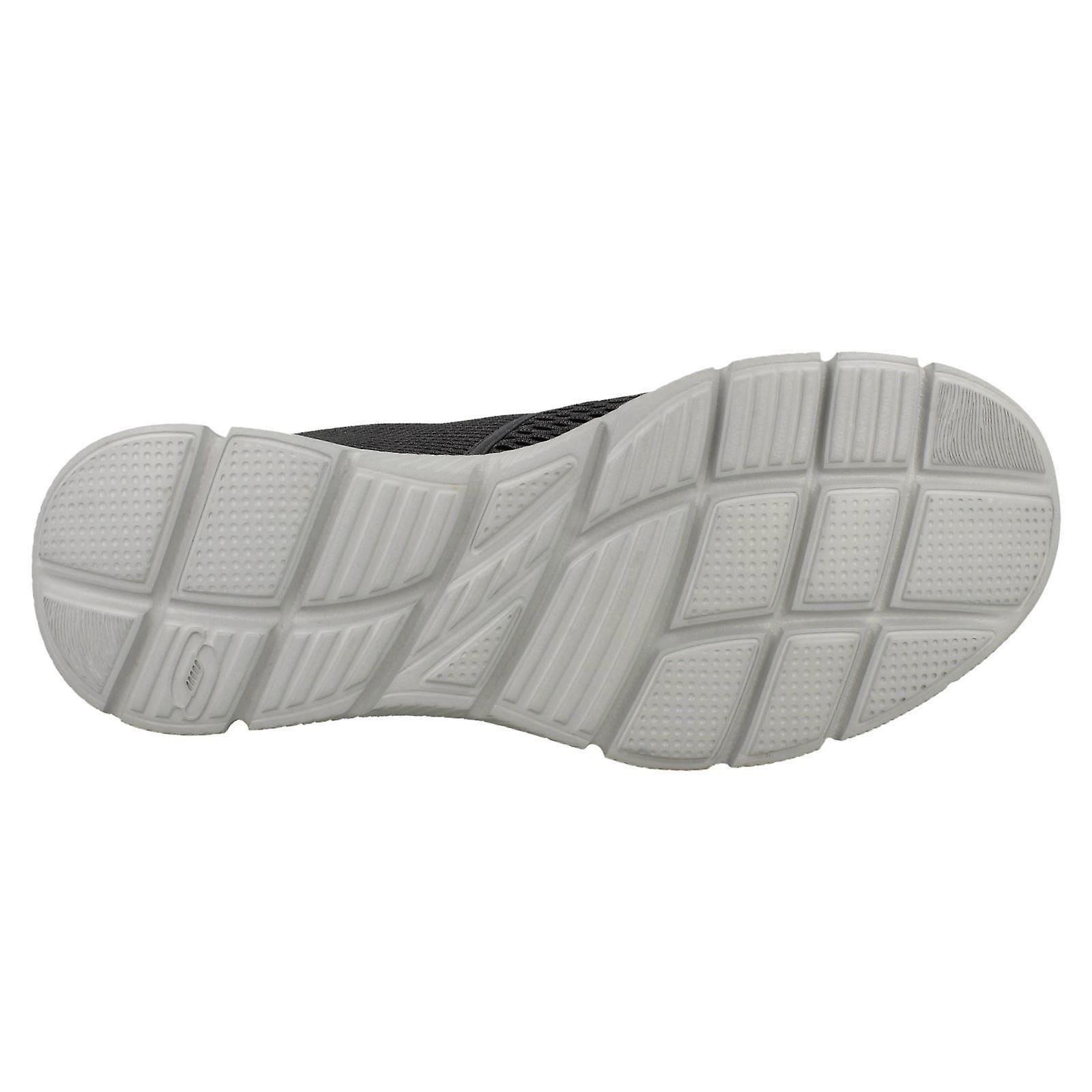 Scarpe Mens Skechers Memory Foam a piedi doppio gioco 51509 SLWEQi