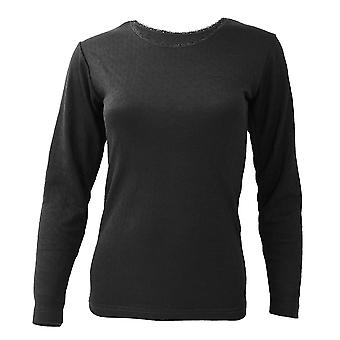 FLOSO Ladies/Womens Thermal Underwear Long Sleeve T-Shirt/Top (Standard Range)