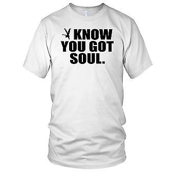 Vet du sjelen Breakdance Street dans Parkour Kids T skjorte