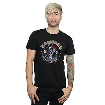 Alas Vintage foto camiseta Ramones hombres