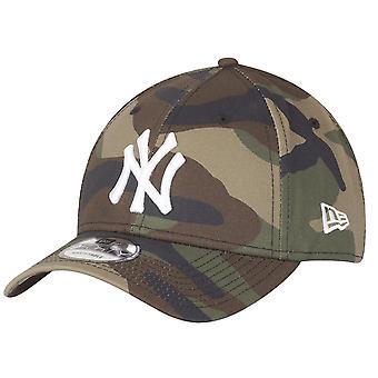 عصر جديد كاب-9Forty MLB نيويورك يانكيز الخشب التمويه