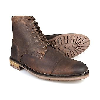 Silver Street Tinturn Brown Leather Mens Casual Boots