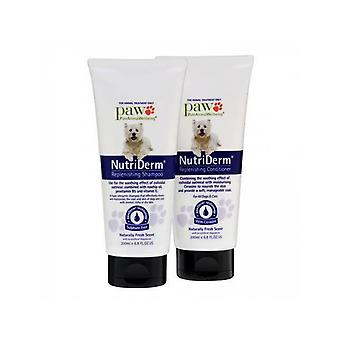 Paw Nutriderm Duo Pack Shampoo & Conditioner 200ml