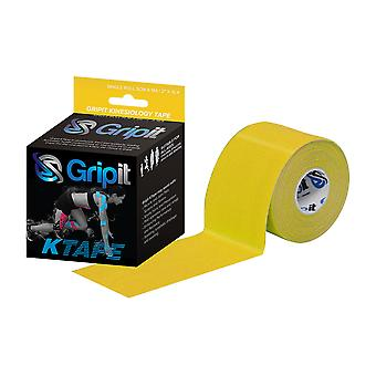 Clinical Kinesiology Tape 5cm x 5m Yellow