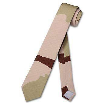 "COVONA Men's Army Camouflage NeckTie Military Skinny 2.5"" Neck Tie"