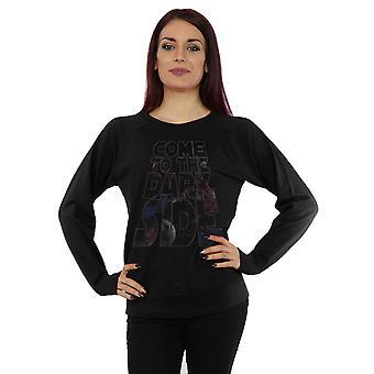 Star Wars Frauen Komm auf die dunkle Seite-Sweatshirt