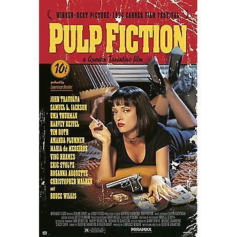 Pulp Fiction affisch affisch Skriv
