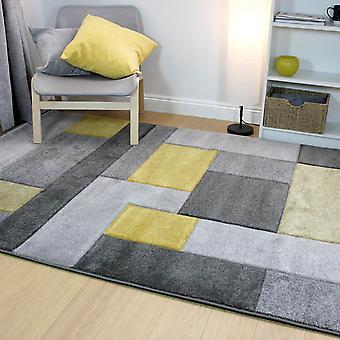 Kosmos tapijten In grijs en oker