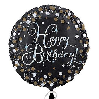 Amscan шампанское днем рождения круглый шар фольги