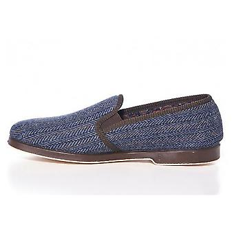 GBS Stafford Mens Twin Gusset Slipper / Mens Slippers